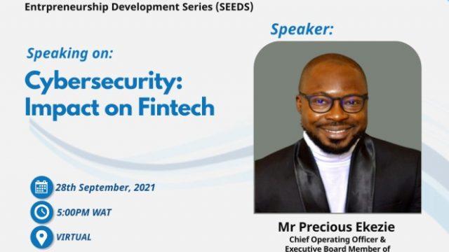 Fintech expert, Ekezie, talks cyber security at Prime Business Africa's SEEDS 3 Webinar