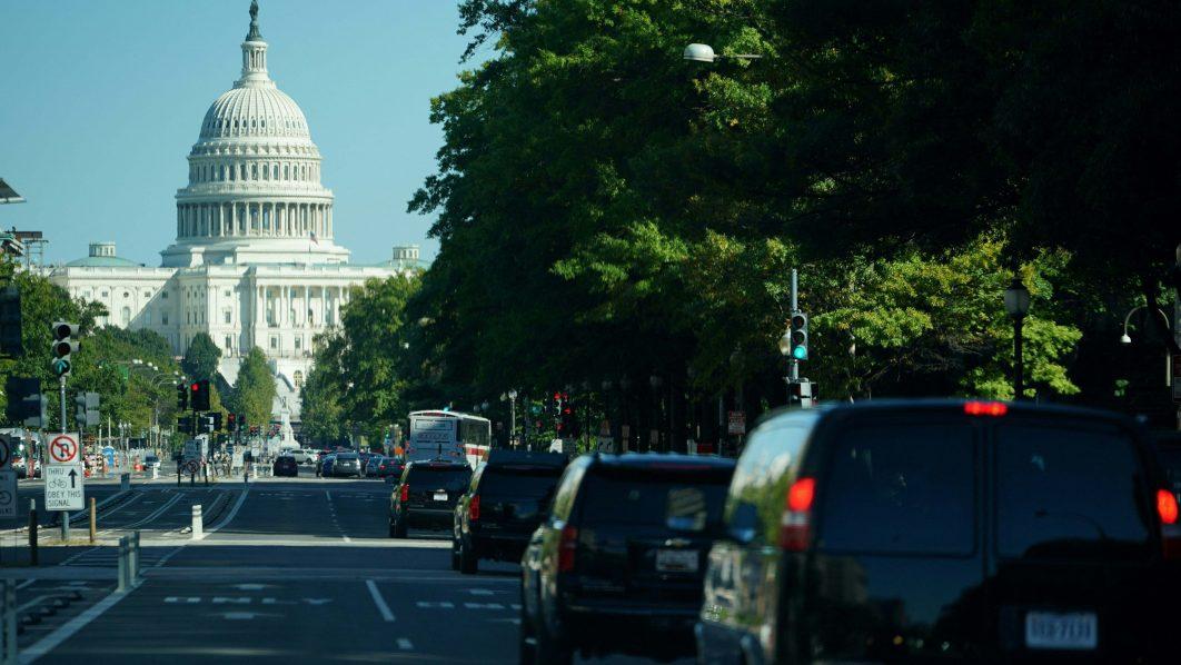 Biden heads to Congress to energize Democrats in tense spending talks