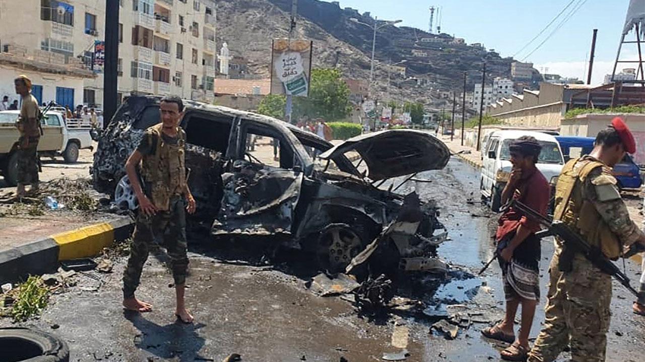 Five dead in Yemen blast targeting Aden governor