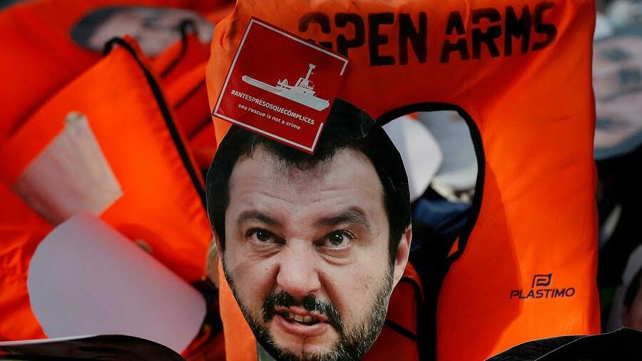 Italian far-right leader Salvini faces court in migrant trial