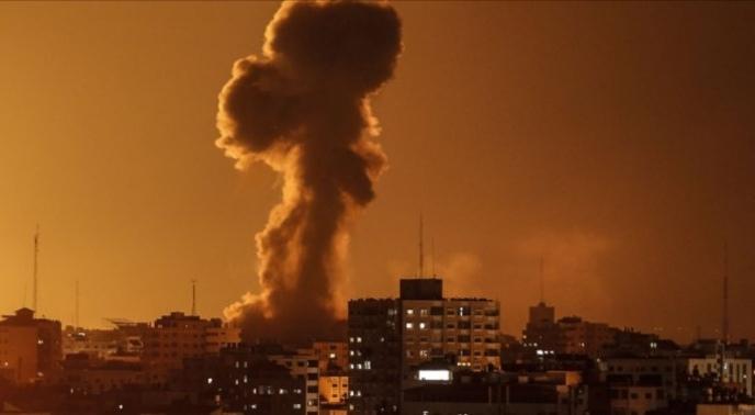 Two killed in Israel strike on Syria base