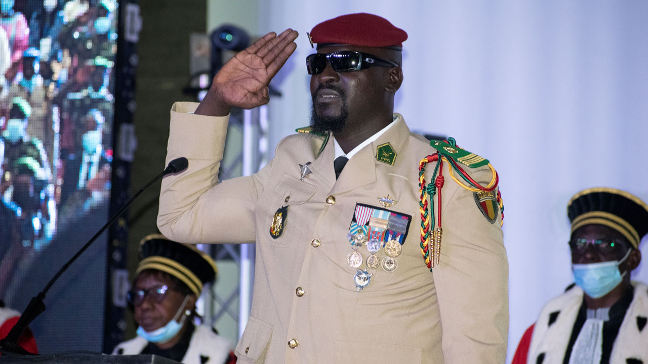 Guinea coup leader picks Mandela prizewinner as foreign minister