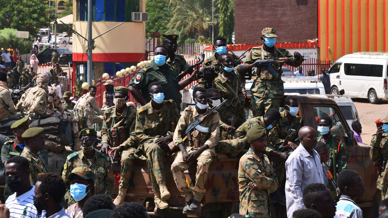 Security tightens grip in coup-hit Sudan as global pressure bites