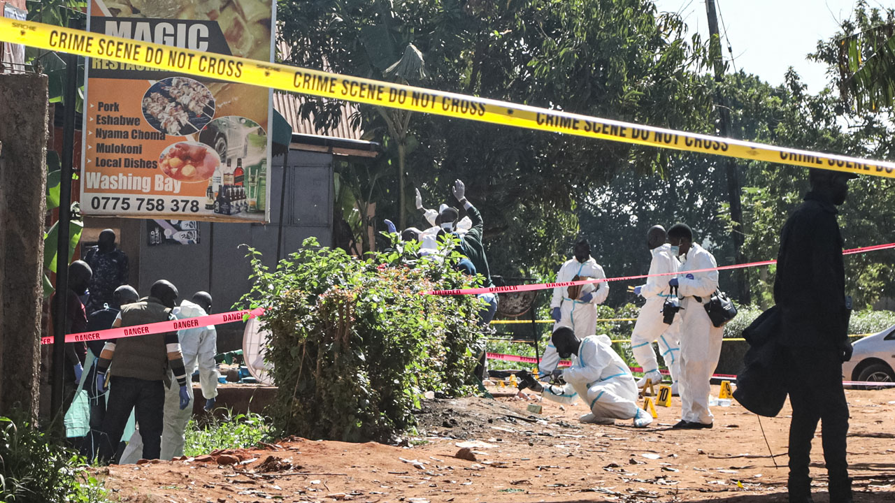 Uganda bus blast a 'suicide bomb attack': police