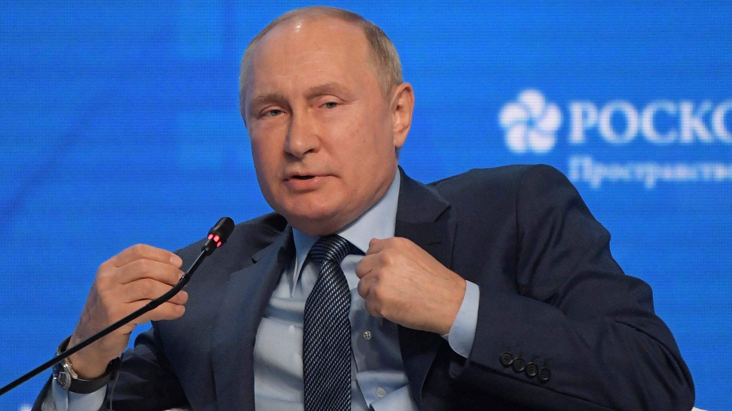 Putin says Iraq, Syria militants entering Afghanistan