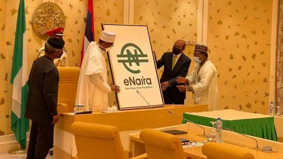 Buhari launch eNaira