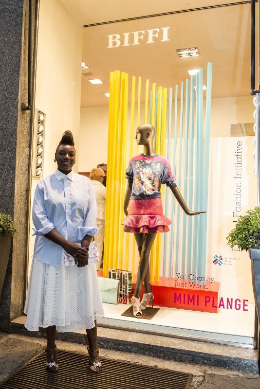 Biffi x EFI Beat of Africa - Mimi Plange Window