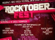 Lagos Are You Ready For Nigeria's Biggest Rock Concert Rocktober Fest ?
