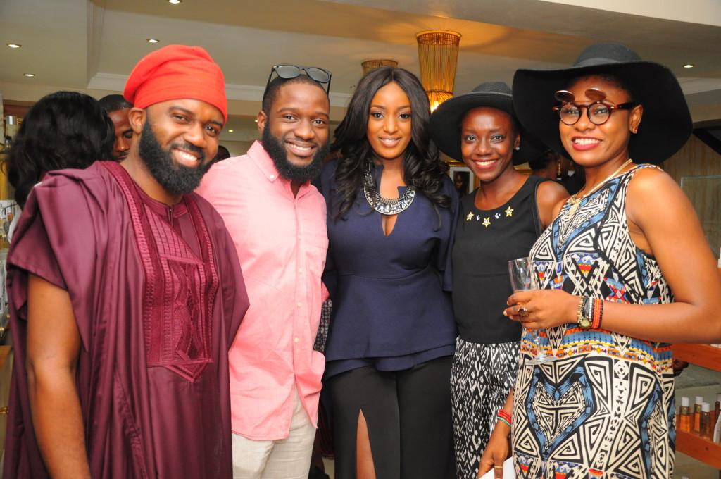 Noble Igwe, DJ Obi, Joycee Awojoodu (Founder) & Friends
