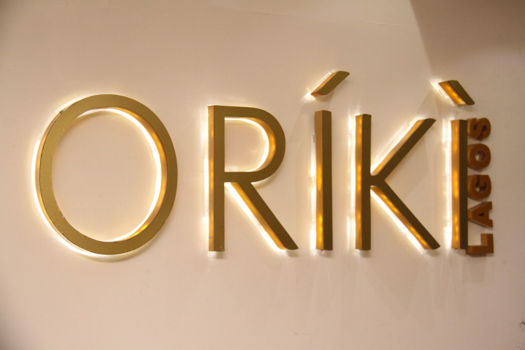 The ORIKI Logo at the Front Desk (1)