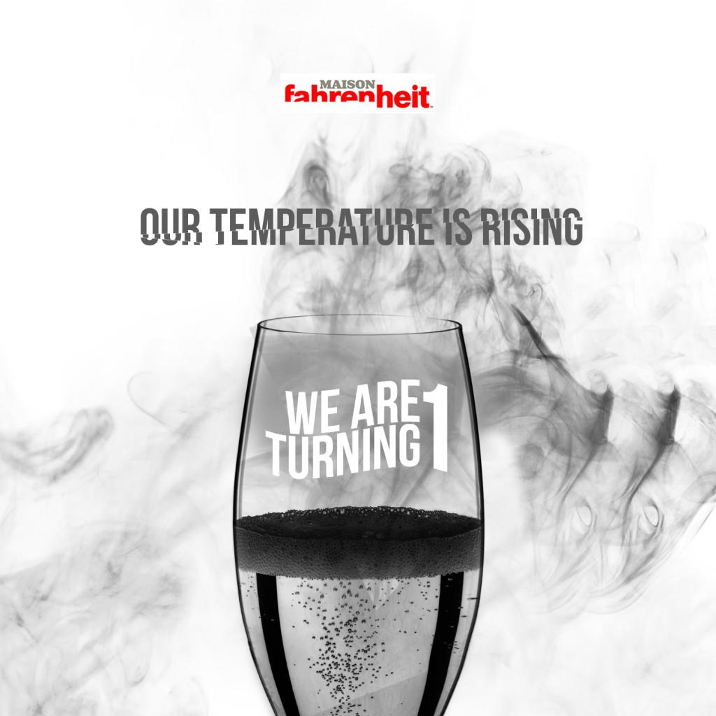 Temperature is rising MAson turns 1