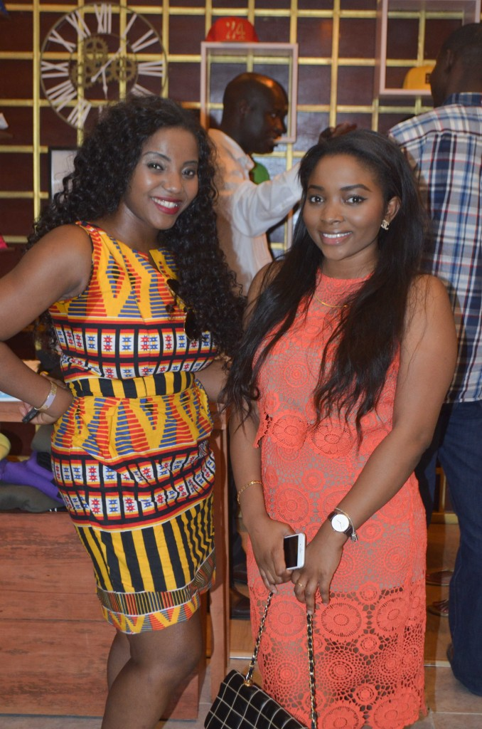 Okiki Marinho and guest