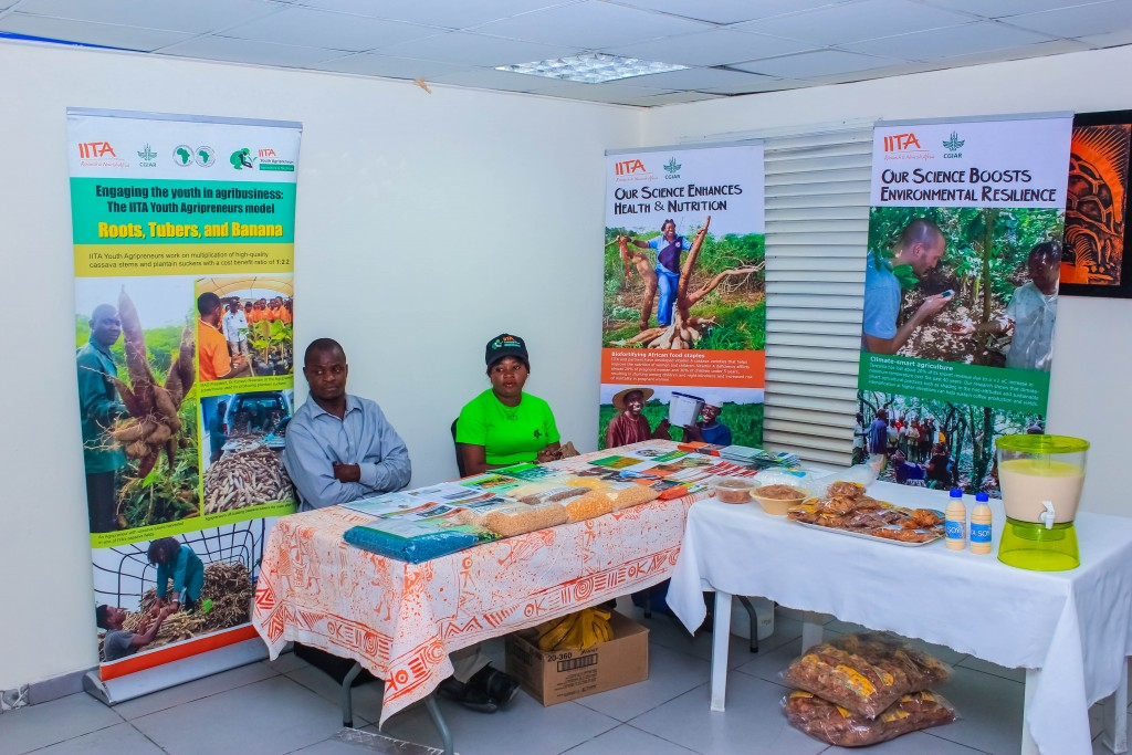 Exhibition Stand of the International Institute of Tropical Agriculture (IITA)