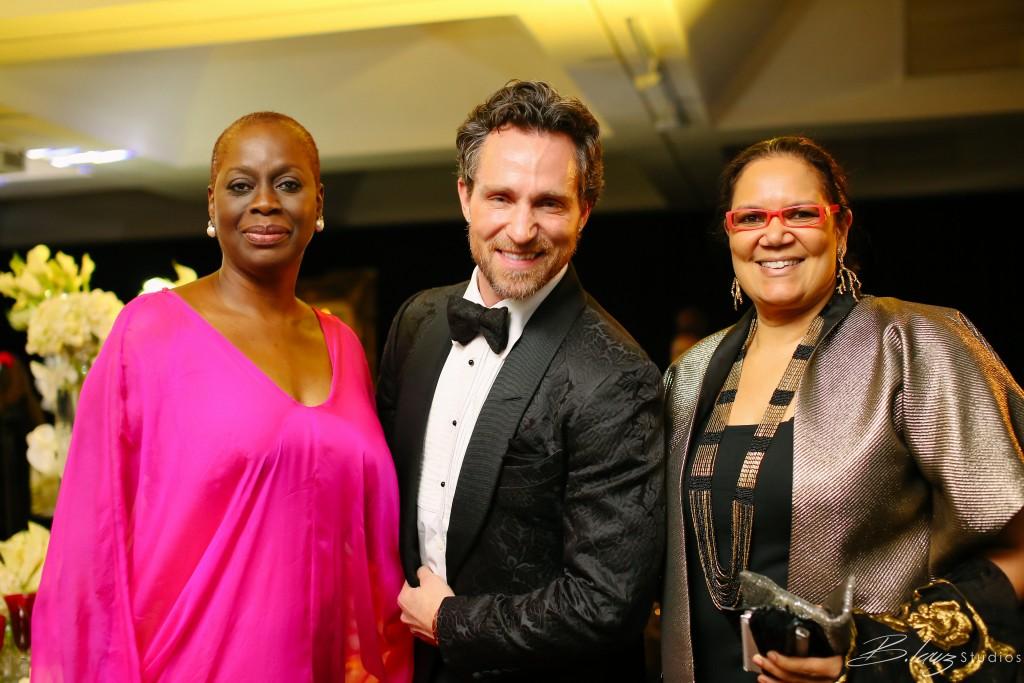 JL Experience-L-R Mosun Ogunbanjo, Jeff Leatham, Sandra Obiago