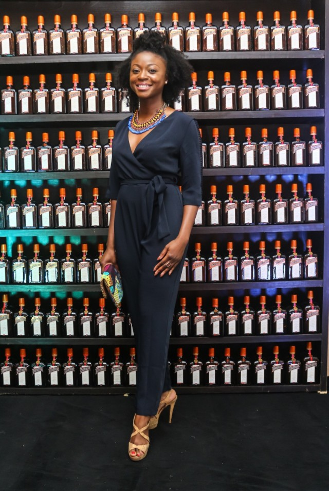 Afua Osei at CCC Launch Party - Guardian Life