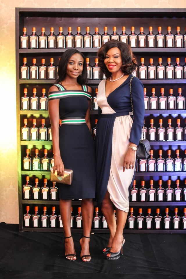 Bidemi Zakariyau & Betty Irabor at CCC Launch Party - Guardian Life