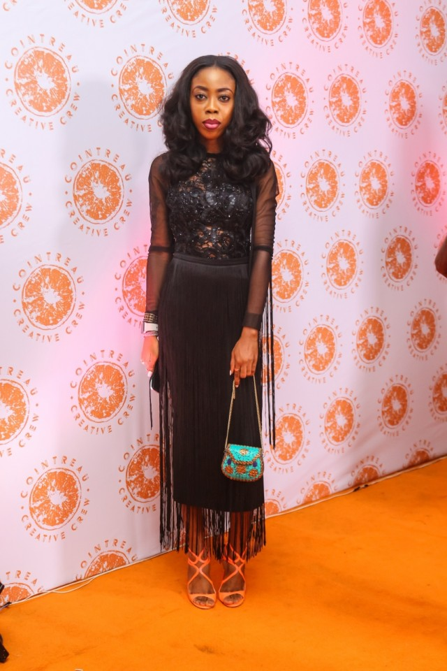 Derin Odugbesan-Thomas at the CCC Launch - Guardian Life
