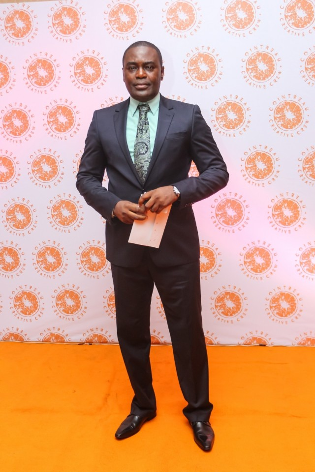 Frank Osodi at the CCC Launch - Guardian Life