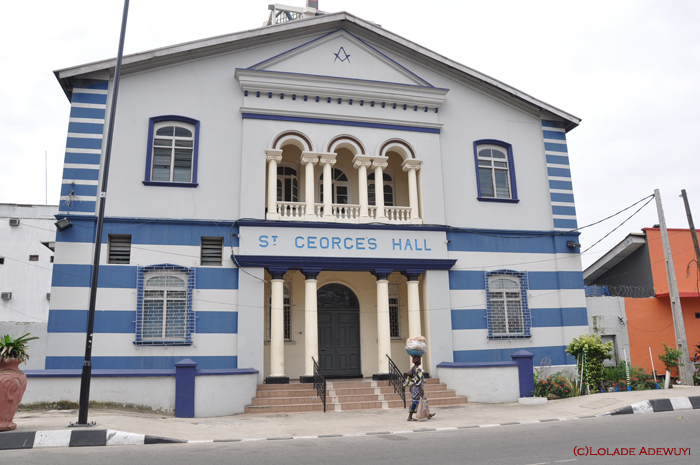 St George's Lodge, Lagos Island