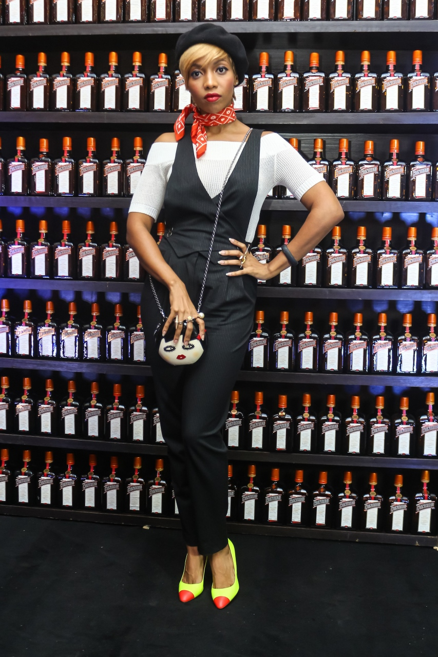 Temi Dollface at the CCC Launch - Guardian Life