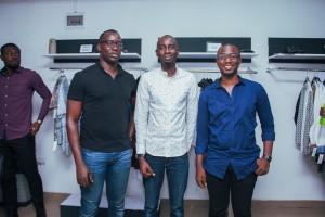 Joseph Ike, Ibrahim Aminu and Olamide E