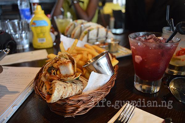 Hard Rock Cafe Mexican Menu - Chicken Burrito