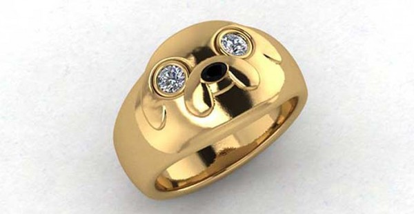 5. The Jake Ring - Inspired by Adventure Time. A true reminder that love is a magical adventure