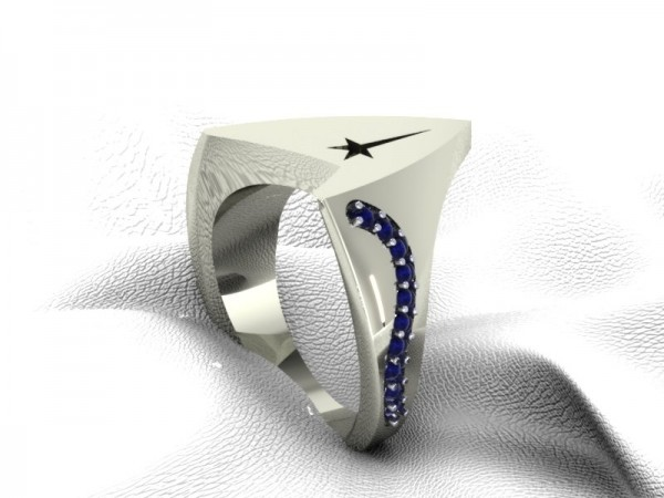 star trek officer ring