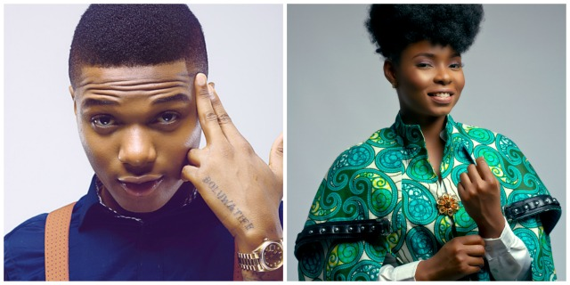 Wizkid and Yemi Alade BET Awards Noinations 2016