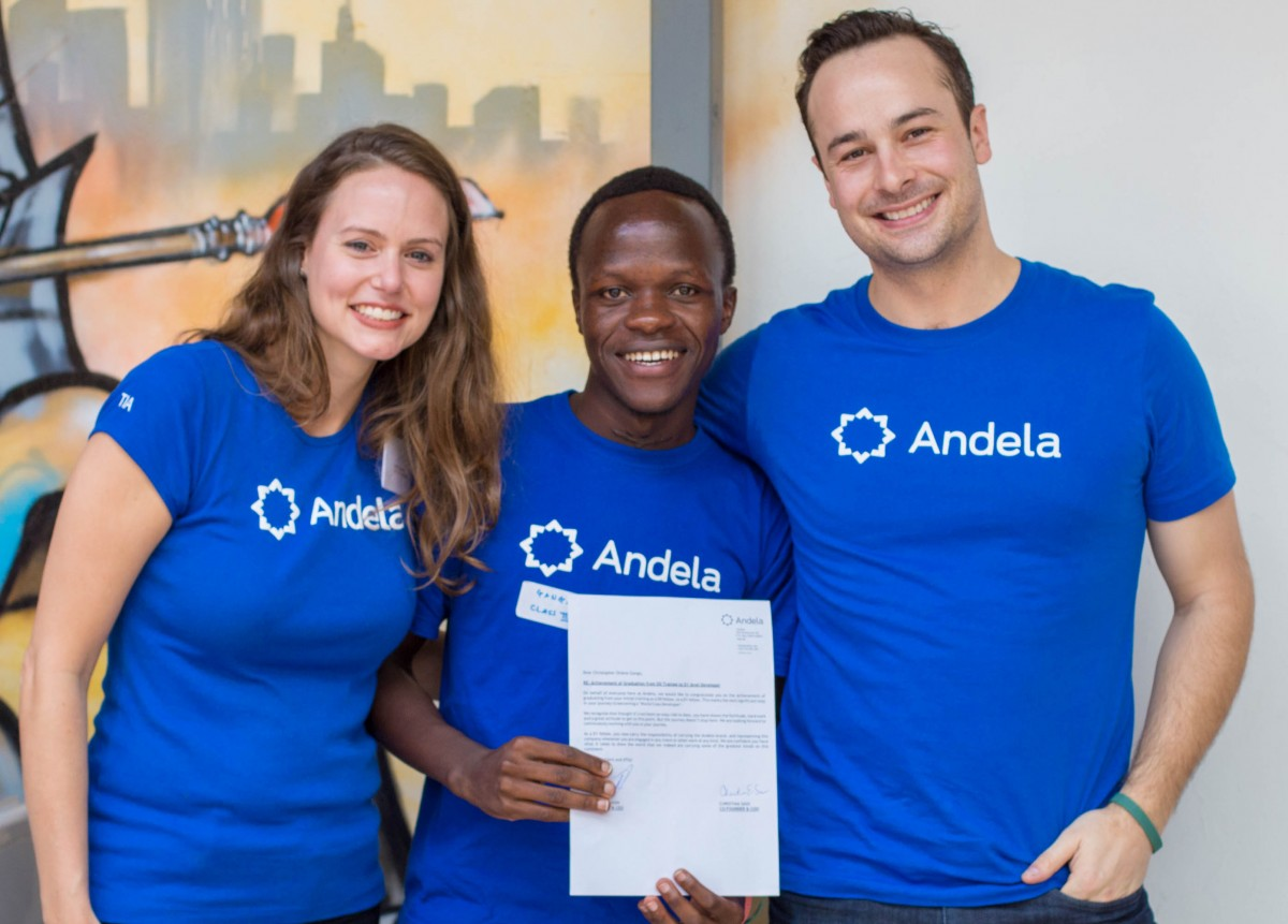 Andela Raises $24 Million From Mark Zuckerberg And Priscilla Chan's Fund To Train African Engineers