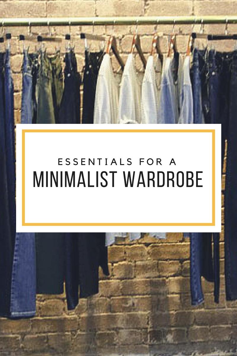 Essentials for a minimalist wardrobe the guardian life for Minimalist essentials