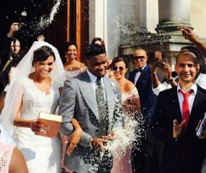 Samuel Eto'o Fils Gets A Stunning Grand Wedding In Italy