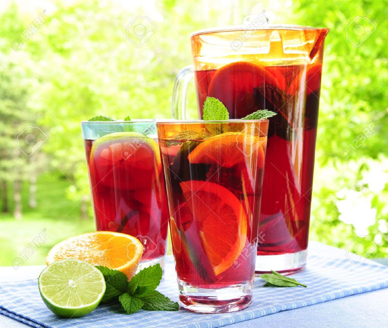 Fruit Infused Water Detox
