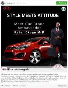 Peter Okoye Kia Ambassador. GLjpg