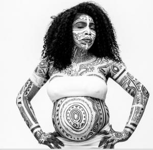 "Artist Laolu Sebanjo's ""Sacred Art Of The Ori"""
