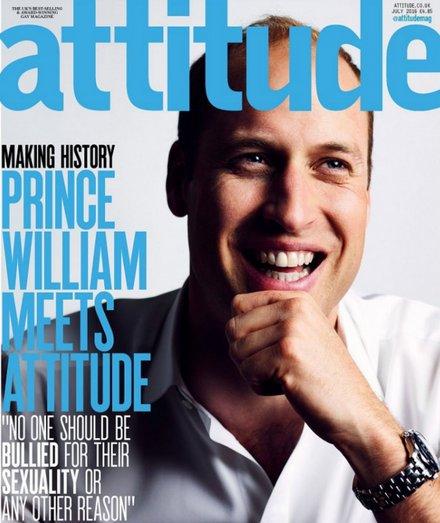 Photo: Courtesy of Attitude Magazine