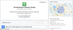 Facebook Turns On Safety Check Following Orlando Mass Shooting