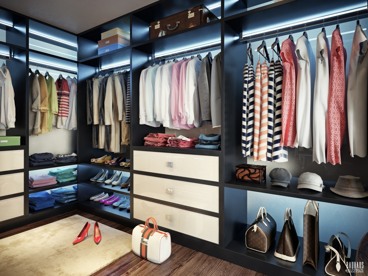 When to let go clothes edition guardian life the for Beautiful walk in closets