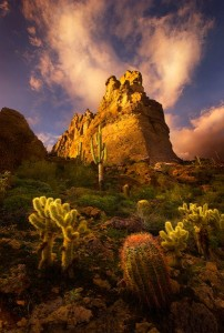 The Superstition Mountain