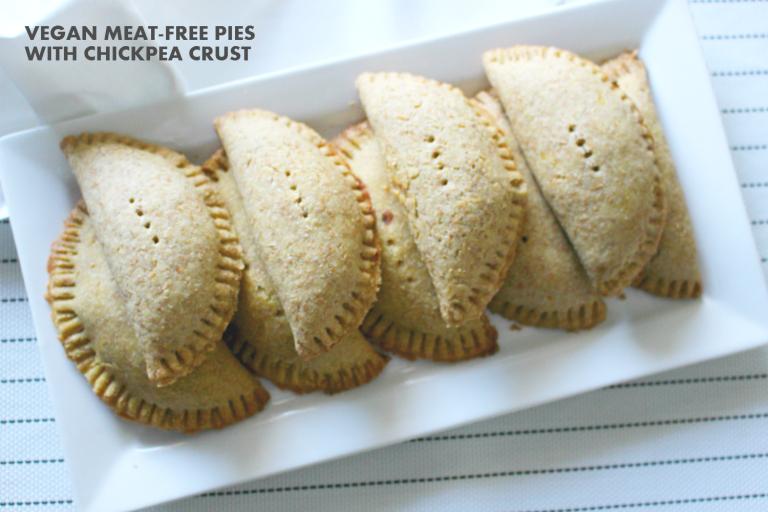 Yvonne Itua - vegan meat-free meat pie recipe