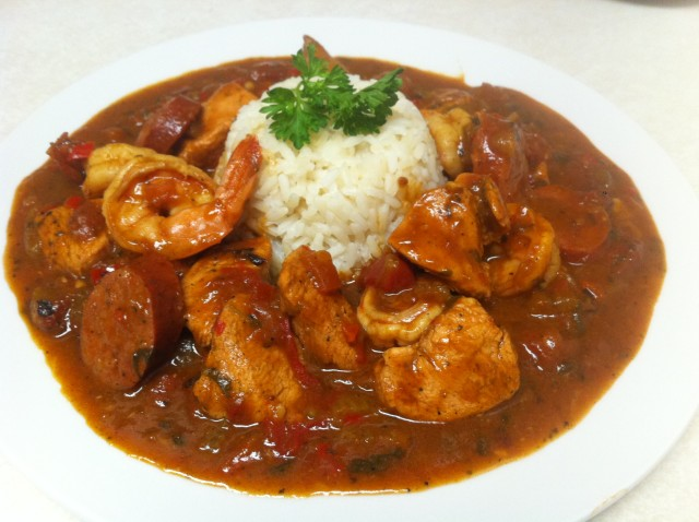 shrimps and catfish gumbo recipe