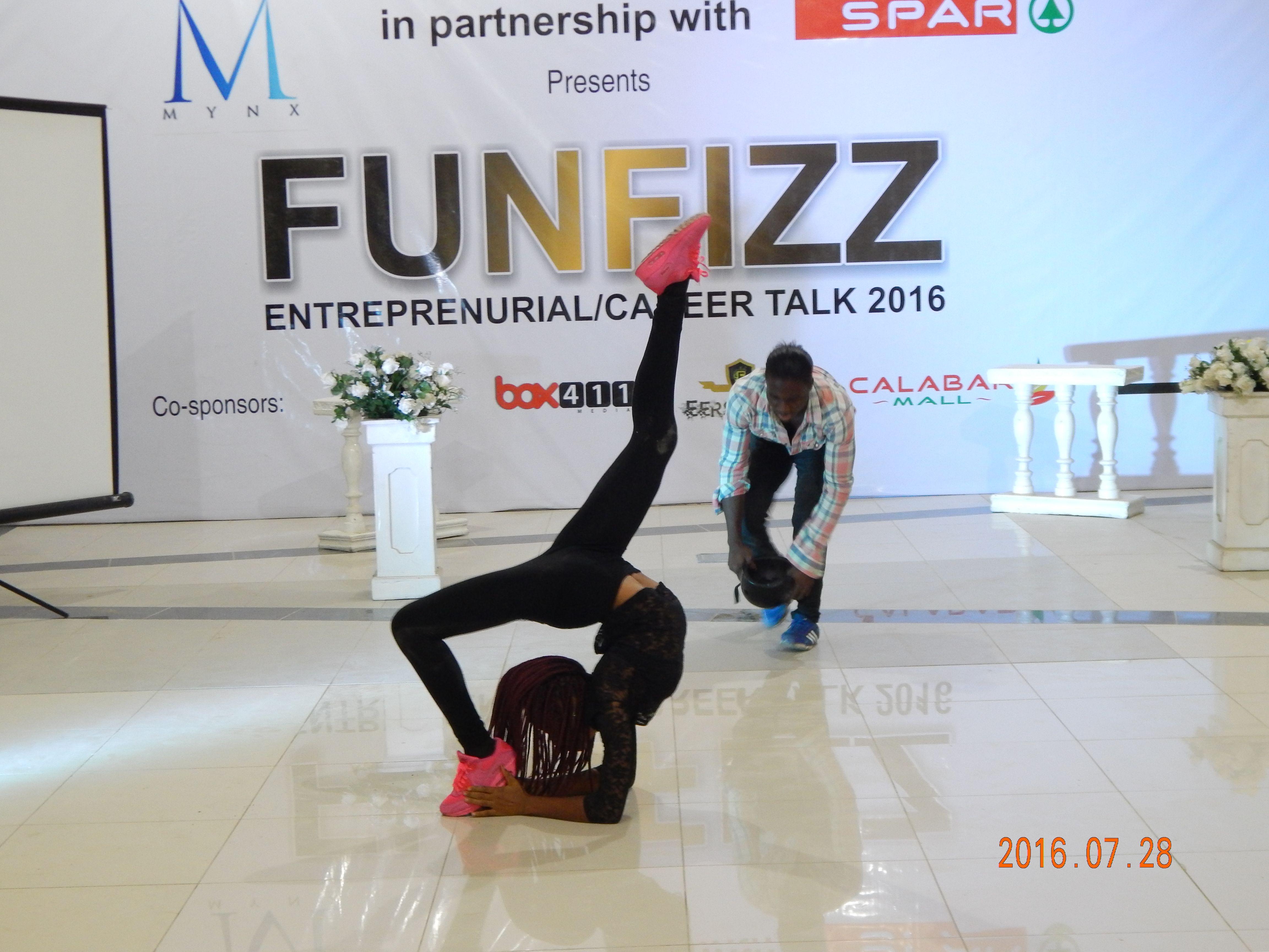 SPAR hosts funfizz calabar 2016