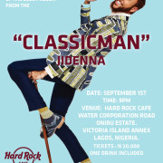 Jidenna at HRC Lagos