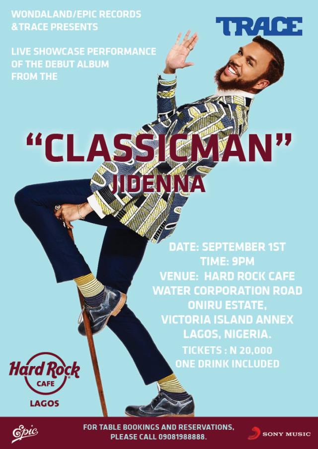 Jidenna at HRC Lagos