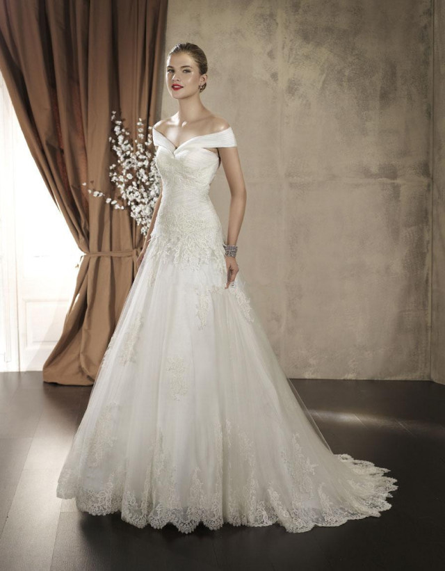 The Off Shoulder Wedding Dress Guardian Life The