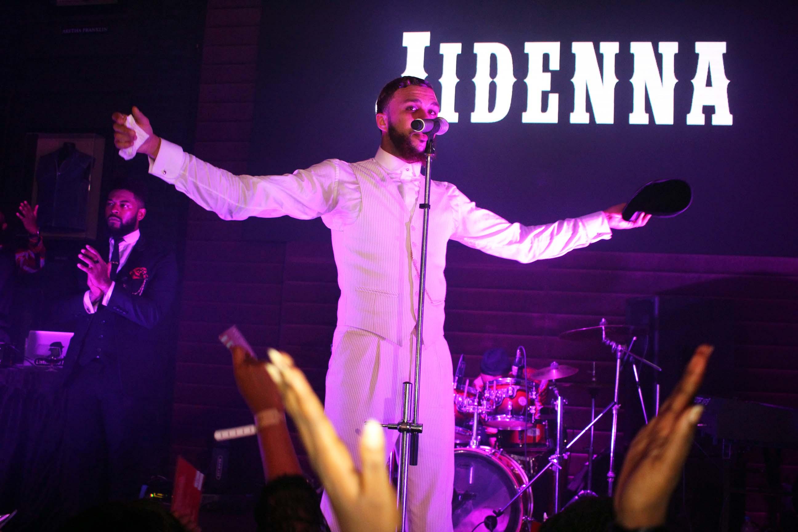Jidenna Rocks At Hard Rock Cafe