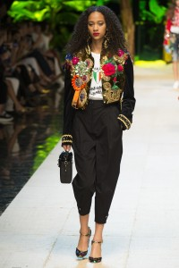 Applique [Dolce and Gabbana]