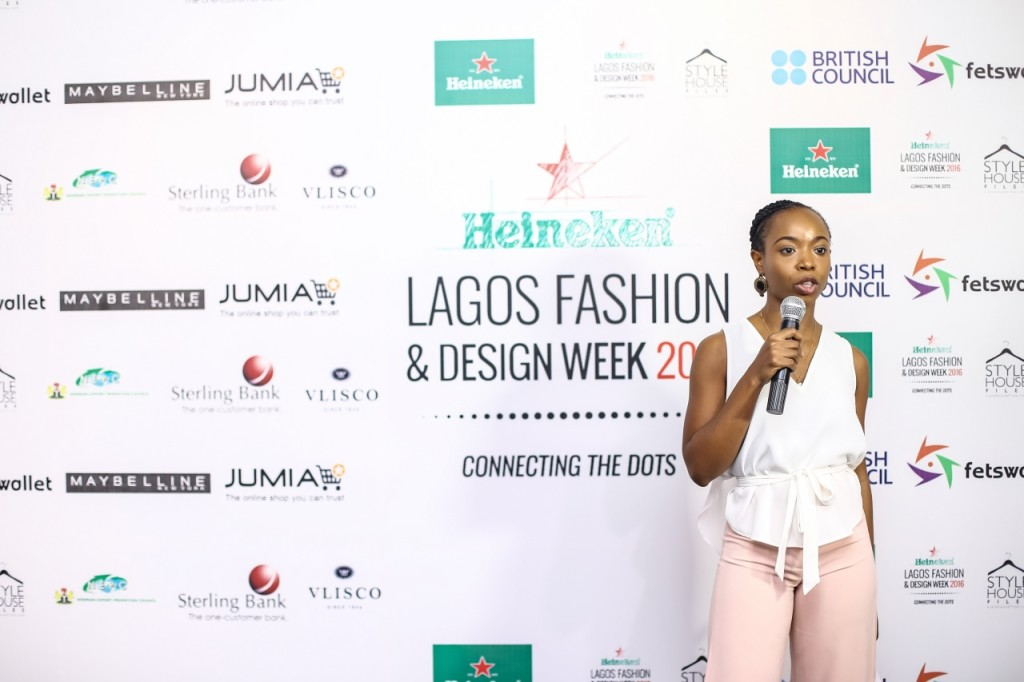Ijeoma Ndekwu (Head Press Heineken Lagos Fashion and Design Week)