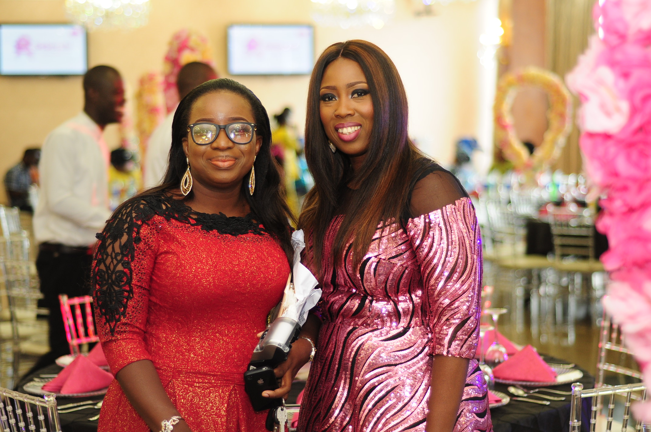 Mrs Morayo Benson and Dr Omolayo Erogbogbo