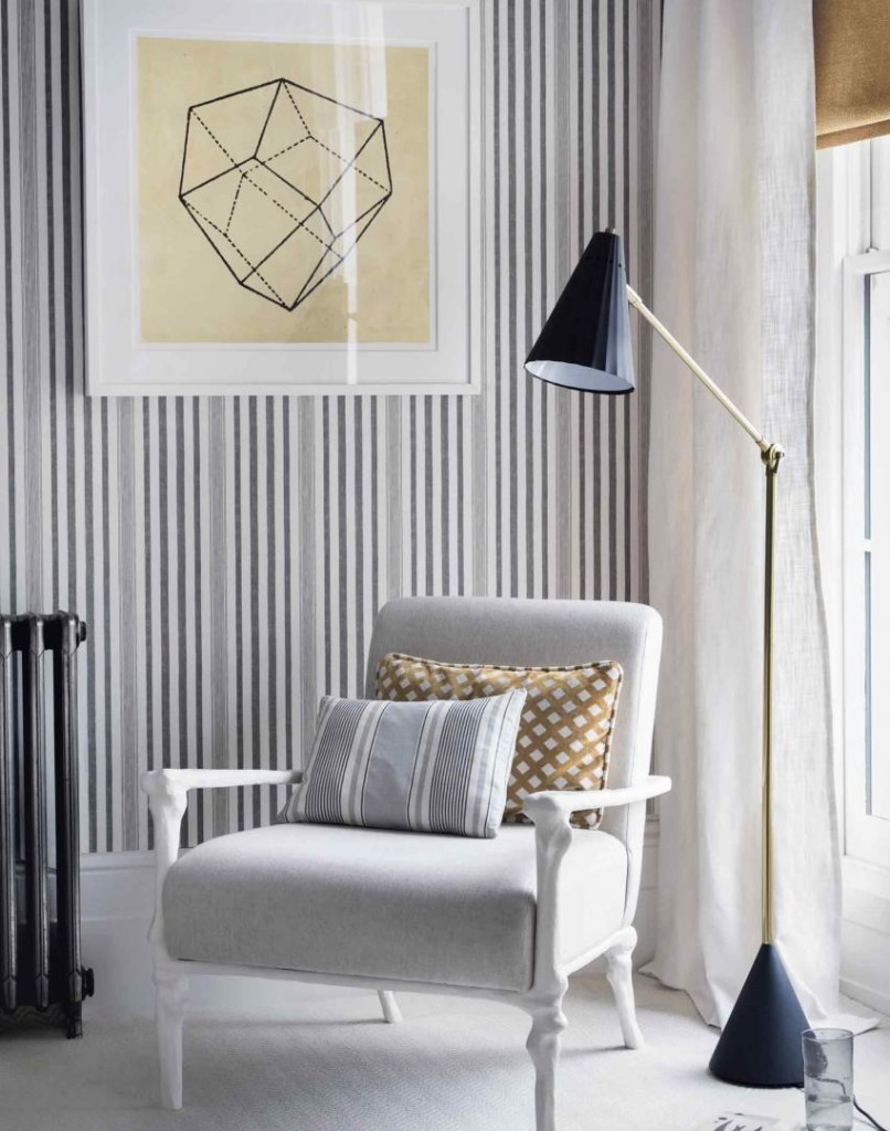 Update Your Living Room with Wallpaper | The Guardian ...